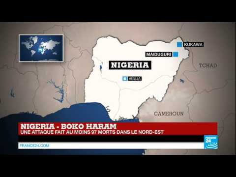 Nigeria : attaque de Boko Haram dans le nord-est, 97 morts