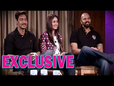 Singham Returns Movie - Ajay Devgn, Kareena Kapoor and Rohit Shetty's EXCLUSIVE Interview