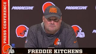 Freddie Kitchens Lays Out Improvements for Week 2 | Cleveland Browns