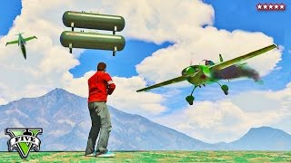 EPIC GTA 5 Snipers VS Planes!! | Stunt Flyers + Shooters | GTA 5 Funny Moments Deaths and Crashes