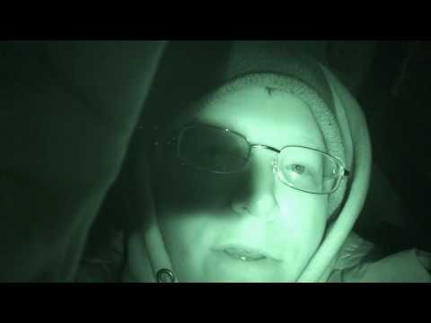Night Vision + Macro Lens = Freaky Eyeball Close-Up!