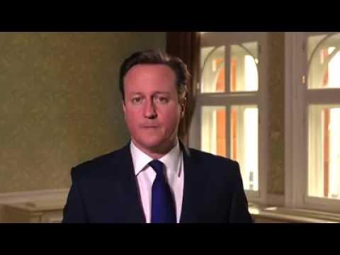 David Cameron say Britain is a Christian nation