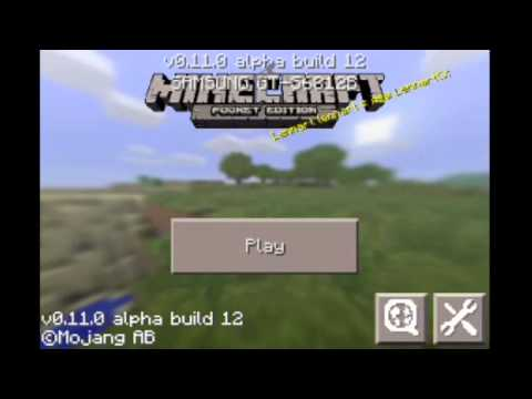BLOCK LAUNCHER 1.9 BETA 9 - MINECRAFT PE 0.11.0 BUILD 12 - MODS SCRIPTS