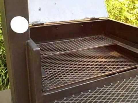 Unique design barbecue smoker bbq pit gas grill for Bbq grill design ideas