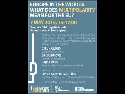 Roundtable discussion: The Future of European Foreign Policy