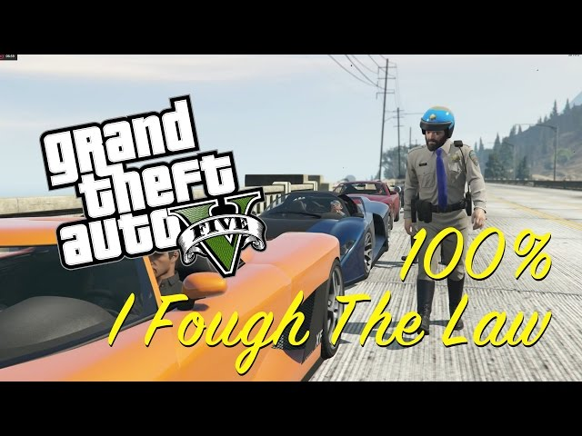 GTA 5 / 100% Completion / I Fought The Law Mission Gameplay / Walkthrough thumbnail