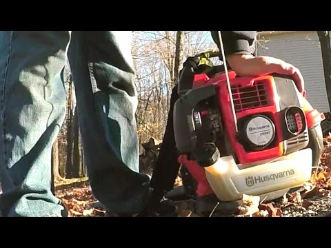 Backpack Leaf Blower Husqvarna 350