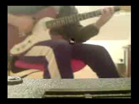 Wayne Krantz style D melodic minor