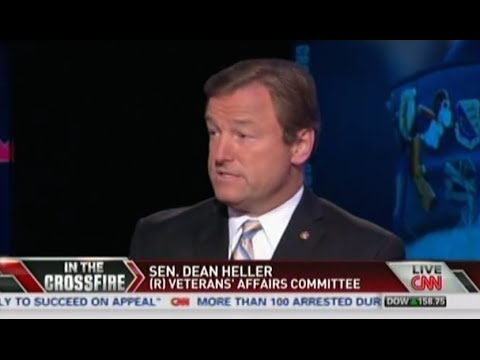Heller Appears on CNN's Crossfire to Discuss the State of VA Healthcare  Part 2
