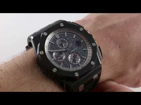 Pre-Owned Audemars Piguet Royal Oak Offshore Chronograph Luxury Watch Review