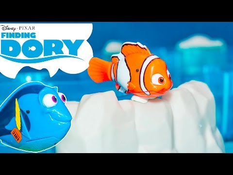 FINDING DORY Disney Pixar Marine Life Institute Finding Dory Funny Kids Toys Video