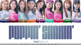 NiziU 虹U/ニジユ/니쥬 – 'POPPIN' SHAKIN''   Color Coded_Kan_Rom_Eng