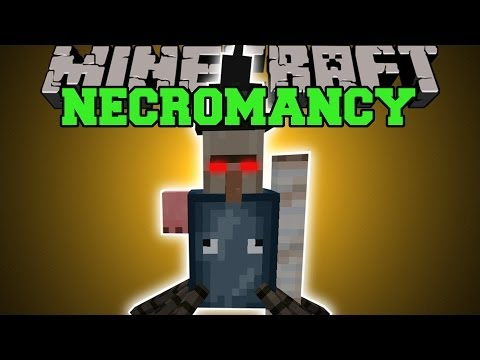 Minecraft: NECROMANCY CREATE CRAZY AND WEIRD PETS Mod Showcase