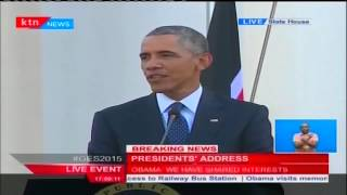 Presidents Uhuru and Barack Obama respond to the issue of gay rights in Kenya