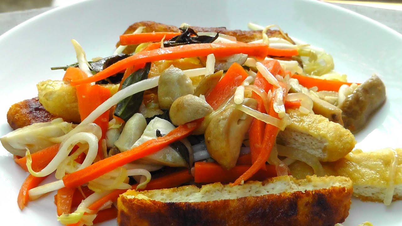 Bean Sprout Tofu Recipe Bean Sprouts With Tofu And