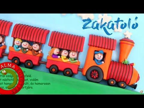 Alma Együttes - Zakatoló (Balaton, Gyurmakönyv és CD, 2005)