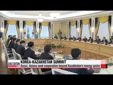 Leaders of Korea, Kazakhstan look to expand joint business projects in Kazakhstan