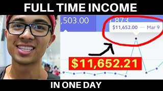 How I Made $11,652.21 in One Day WITHOUT a Product