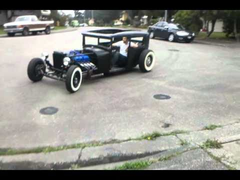 29 Model A Hot Rod First Test Run