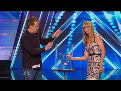 America's Got Talent S09e05 Mike Super The Mystifier Magic Act video