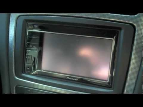2004 Mercedes C240 Double Din Pioneer AVH 3300BT / 3200BT Upgrade
