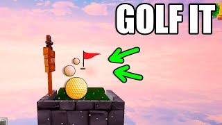 GOLF IT | SÓLO CON SUERTE LO CONSIGUES!! (Muy Dificil)