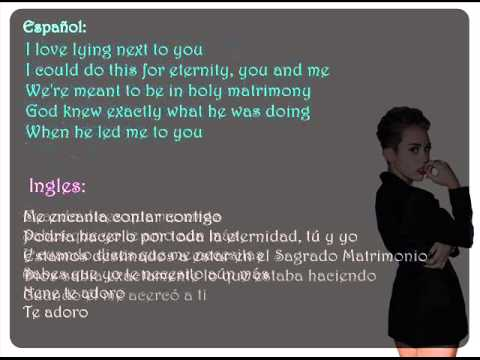 Miley Cyrus Adore You Espa Ol Video - Mp3, Lyrics, Albums & Video