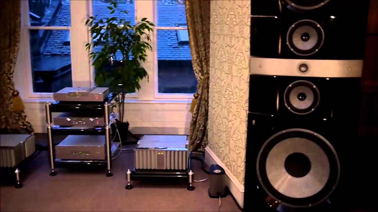 focal grand utopia em loudspeakers burmester electronics youtube. Black Bedroom Furniture Sets. Home Design Ideas