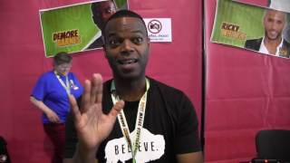 unCONventional 2017 - Comic Con Germany Short Interview Demore Barnes