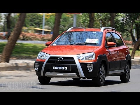 2014 Toyota Etios Cross - First Drive Review (India)