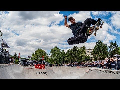 Vans Park Series European Continental (Rune Glifberg, Alessandro Mazzara, Tyler Edtmayer)