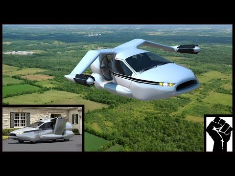 Fly To Work Over Traffic Jams In The Terrafugia TF-X