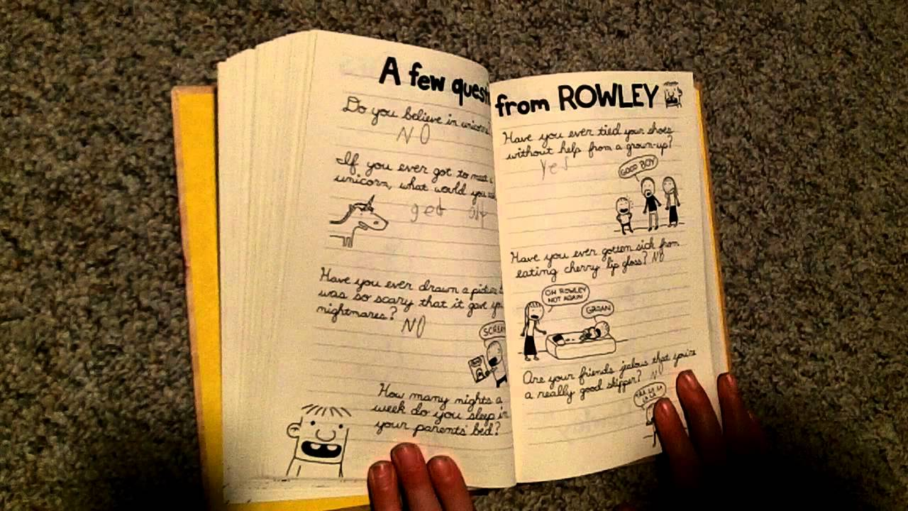 Diary of a wimpy kid do it yourself book solutioingenieria Gallery