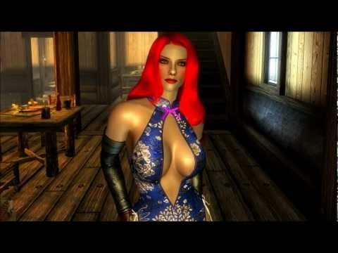 The Elder Scrolls V: Skyrim - Neo Oriental Dress Mod