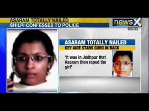 Newsx : 'asaram Conspired To Rape The Girl' Confesses His Associate Shilpi video