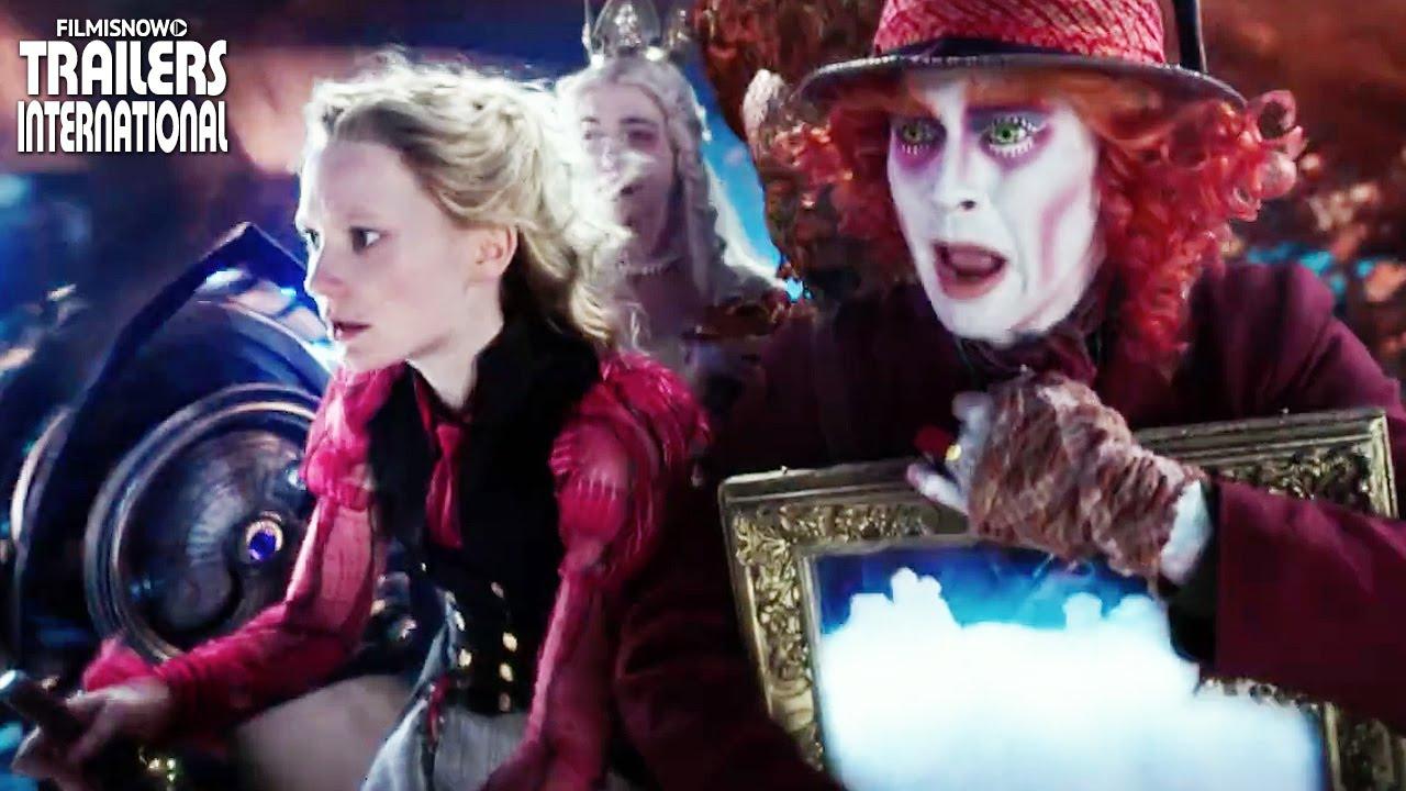 Alice retorna para Underland | Novo clipe de Alice Através do Espelho [Johnny Depp] HD