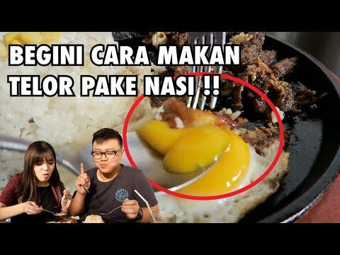 Cara Makan Telor Pake Nasi Paling Enak !!
