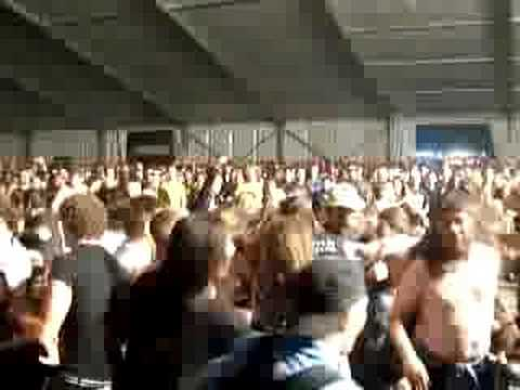 Wall of Death Moshpit Exodus live Sziget Festival