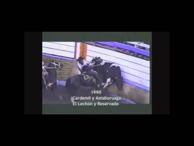 Rodeo Chileno  Potros y Yeguas Famosos.wmv