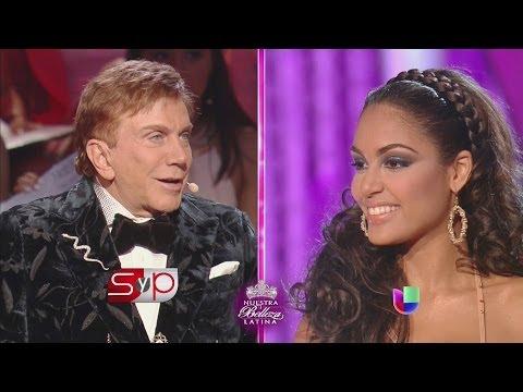 Osmel Sousa no tuvo piedad con las bellezas, en especial con Nabila Tapia