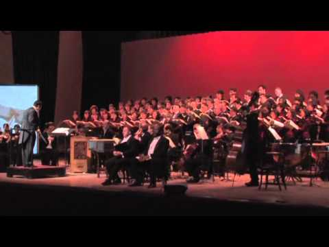 """Behold the Lamb of God"" from G.F Handel's Messiah"