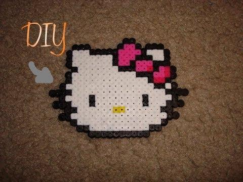 DIY: Perler Bead Hello Kitty |SweetCharmStop