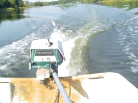 7.5 Ted Williams Outboard Motor on GPS