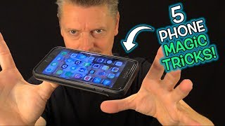 MAGIC TRICKS You Can Do with YOUR PHONE!!