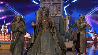 Britain's Got Talent 2019 Big Name Statues Surprises Full Audition S13E06