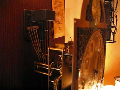 Grandfather Clock Chimes At Lowered Pitch