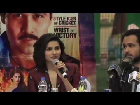 Azhar Movie Promotional Tour Dubai | Press Conference