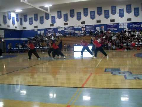 El Camino Real Hip Hop 2011 - Elco Vs. Cleveland High School Basketball Game