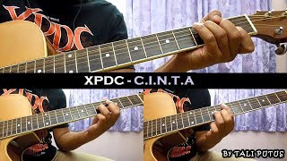 Xpdc - C.I.N.T.A (Instrumental/Full Acoustic/Guitar Cover)
