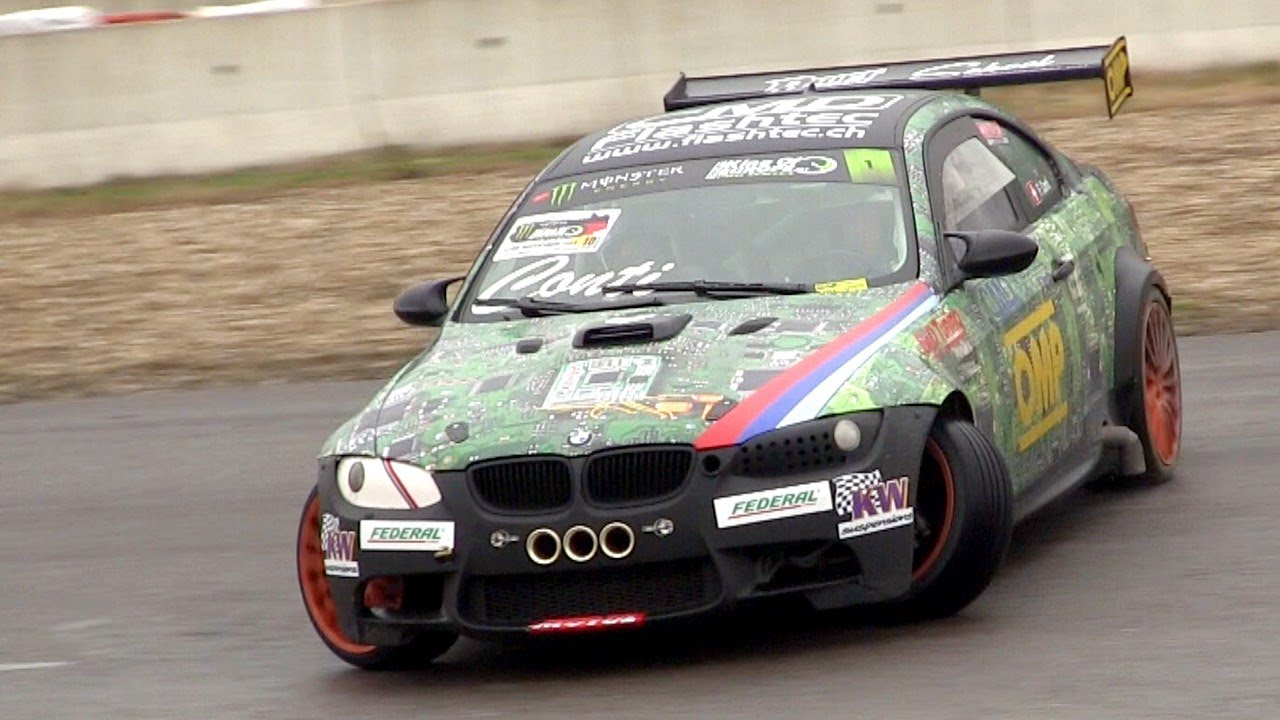 Supercharged BMW M3 E92 Amazing Drift & Sound - Francesco ...